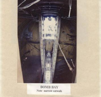 B17 Bomb Bay