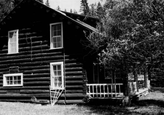 O'Hara Ranger Station, Nez Perce National Forest<br />O'Hara Ranger Station, Nez Perce National Forest, Photographer Unknown, 1981