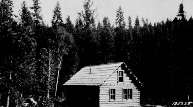 Bear Creek Ranger Station, Selway National Forest<br />Bear Creek Ranger Station, Selway National Forest, Jefferson, F. J., 1925