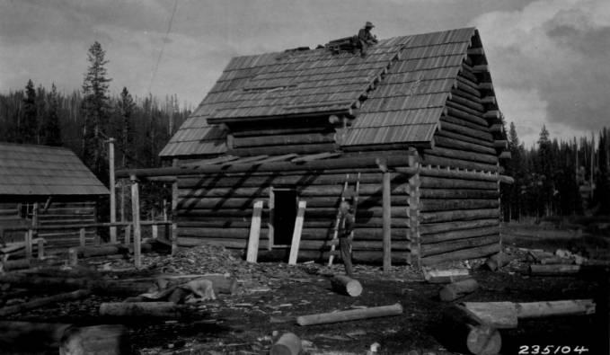 Elk Summit Ranger Station<br />Elk Summit Ranger Station, Bell, William J., 1929