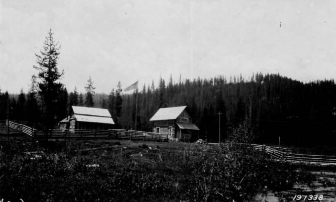 Red River Ranger Station, Nez Perce National Forest, Built 1920<br />Red River Ranger Station, Nez Perce National Forest, Built 1920, Wolff, M. H., 1925