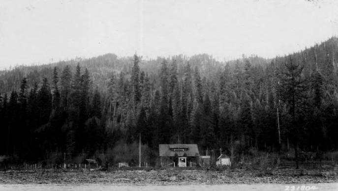O'Hara Ranger Station, Nezperce National Forest<br />O'Hara Ranger Station, Nezperce National Forest, Wolfe, K., Supervisor, Selway National Forest, 1929