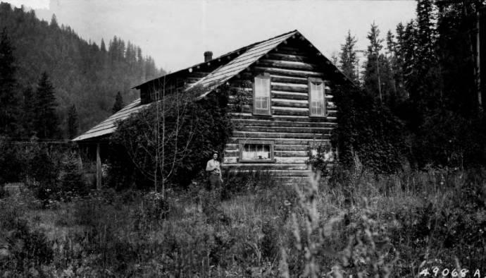 O'Hara Ranger Station<br />O'Hara Ranger Station, Beatty, D. L. , 1920-08-01