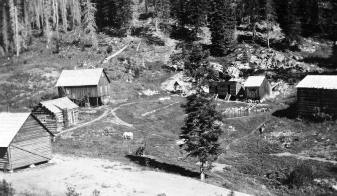 Red River Hot Springs, Nez Perce National Forest<br />Red River Hot Springs, Nez Perce National Forest, Fickes, C. P., 1922-08-01