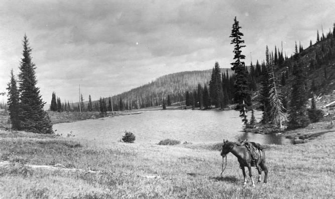 Hoodoo Lake<br />Hoodoo Lake, Shattuck, Charles?, 1910