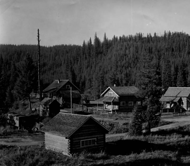 Red River Ranger Station, Nez Perce National Forest, Built 1920<br />Red River Ranger Station, Nez Perce National Forest, Built 1920, Swan, K. D., 1938