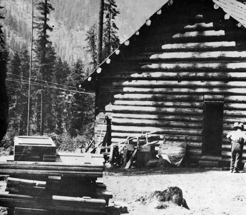Moose Creek Ranger Station<br />Moose Creek Ranger Station, Childs, Don, 1924