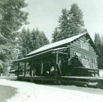 Moose Creek Ranger Station Commissary<br />Moose Creek Ranger Station Commissary, Walker, Richard, 1969