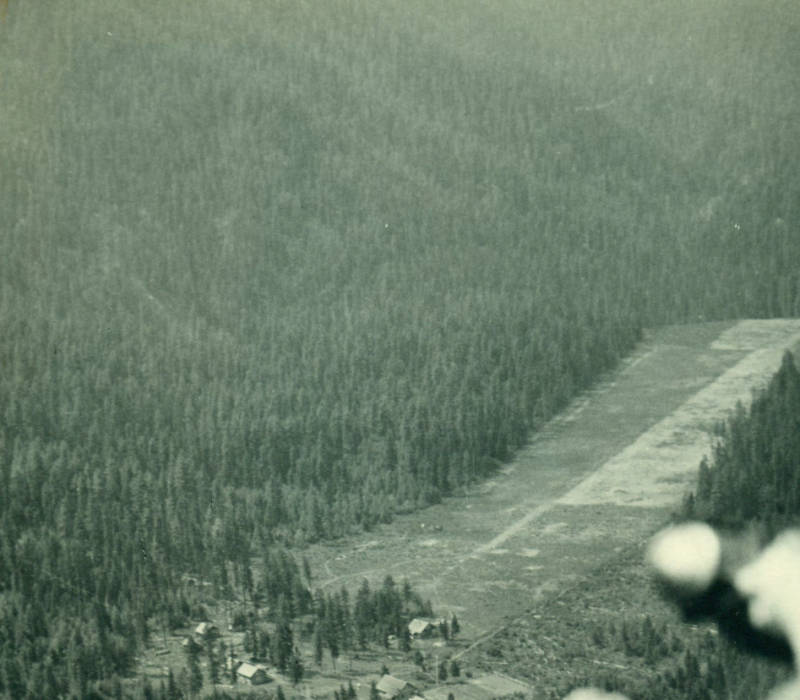 Moose Creek Landing Strip<br />Moose Creek Landing Strip, Photographer Unknown, 1936