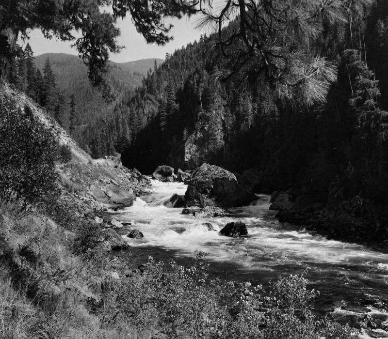 Selway Falls<br />Selway Falls, Slusher, Edward, 1961