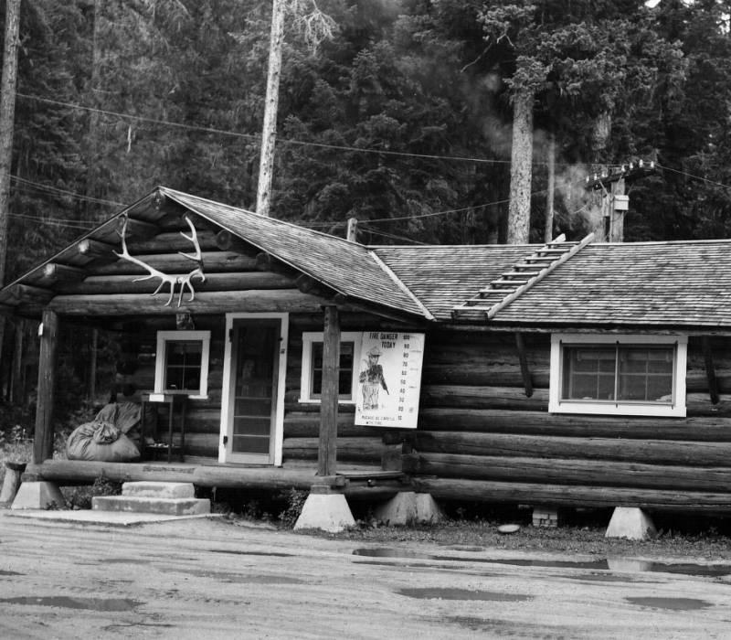 Powell Ranger Station<br />Powell Ranger Station, Stevenwald, W. E., 1954