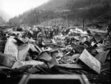 Forest Fire, 1910 - Wallace [1910] Coeur d'Alene Hardware warehouse ruins Sept. 3 after fire of...
