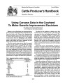 Using Carcass Data in the Cowherd to Make Genetic Improvement Decisions