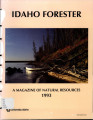 The Idaho Forester - 1993 (Vol. 74)