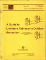 A Guide to Literature Retrieval in Outdoor Recreation