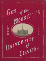 1906 Gem of the Mountains, University of Idaho Yearbook, Vol. 3