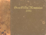 1907 Gem of the Mountains, University of Idaho Yearbook, Vol. 4