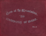 1909 Gem of the Mountains, University of Idaho Yearbook, Vol. 6