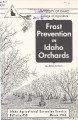 Frost prevention in Idaho orchards