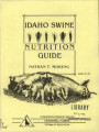 Idaho swine nutrition guide