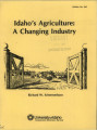 Idaho's agriculture: a changing industry