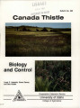 Canada thistle biology and control