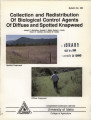 Collection and redistribution of biological control agents of diffuse and spotted knapweed