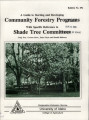 A Guide to starting and developing community forestry programs :special reference to shade tree...