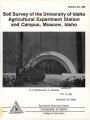 Soil survey of the University of Idaho Agricultural Experiment Station and campus, Moscow, Idaho