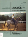 EQUINE Industry in Idaho
