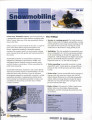 The economic impact of snowmobiling in Valley County
