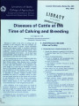 Diseases of cattle at the time of calving and breeding