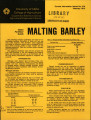 Idaho fertilizer guide: malting barley