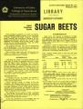 Idaho fertilizer guide: sugar beets