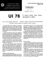 UI 76: a small white navy bean developed in Idaho