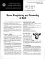 Home slaughtering and processing of beef