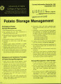 Potato storage management
