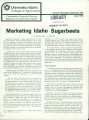 Marketing Idaho sugarbeets