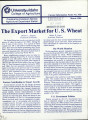 The export market for U.S. wheat