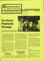 On-farm pesticide storage