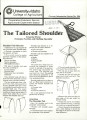 The tailored shoulder
