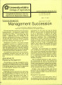 Management succession