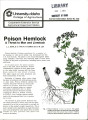 Poison hemlock: a threat to man and livestock