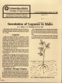 Inoculation of legumes in Idaho