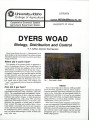 Dyers woad: biology, distribution and control