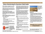 Photo Monitoring for Ranchers Field Guide