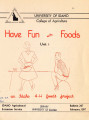 Have Fun with Foods