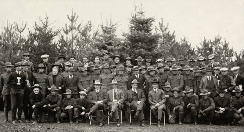 Associated Foresters, University of Idaho, 1923