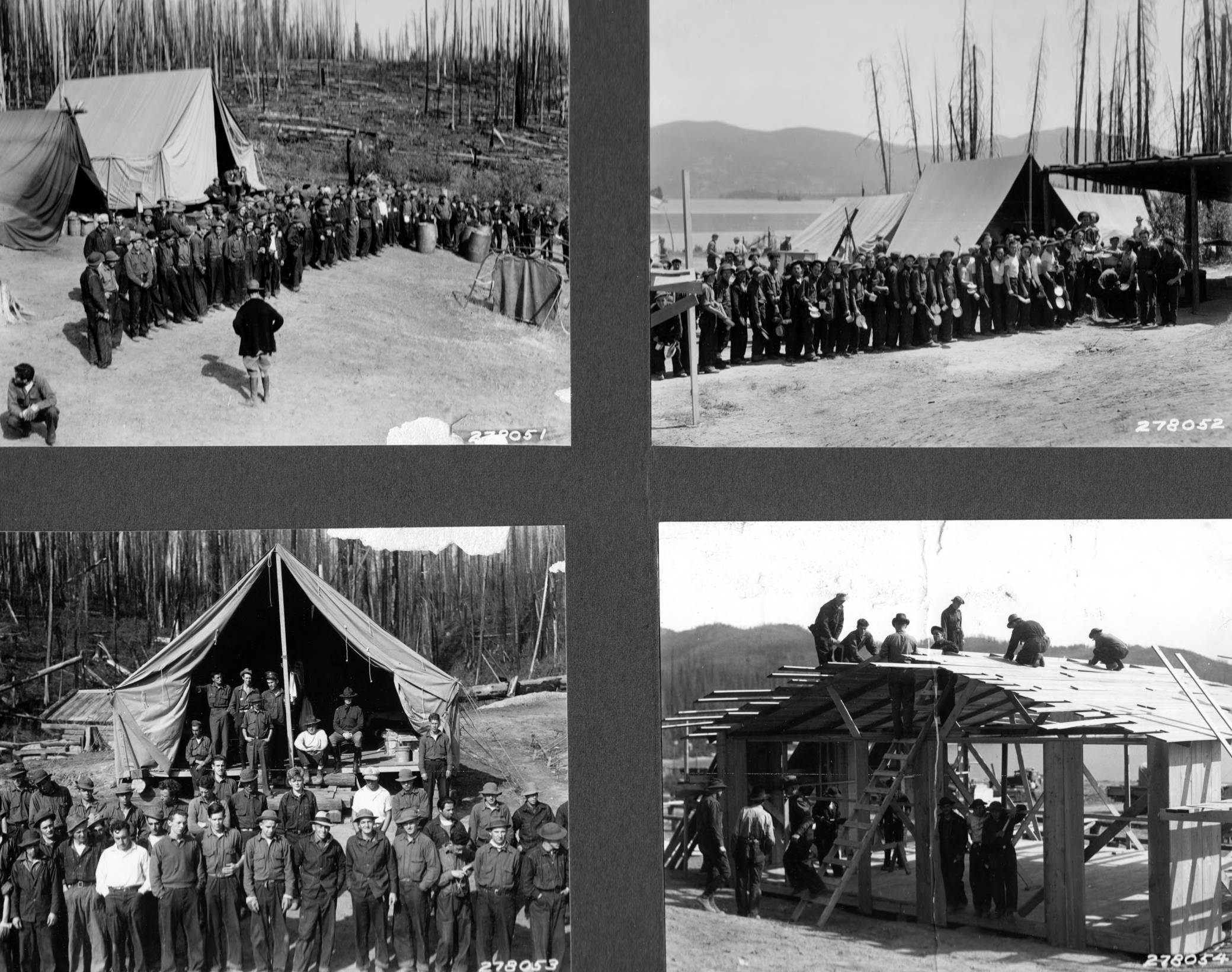 item thumbnail for Scenes from a CCC camp