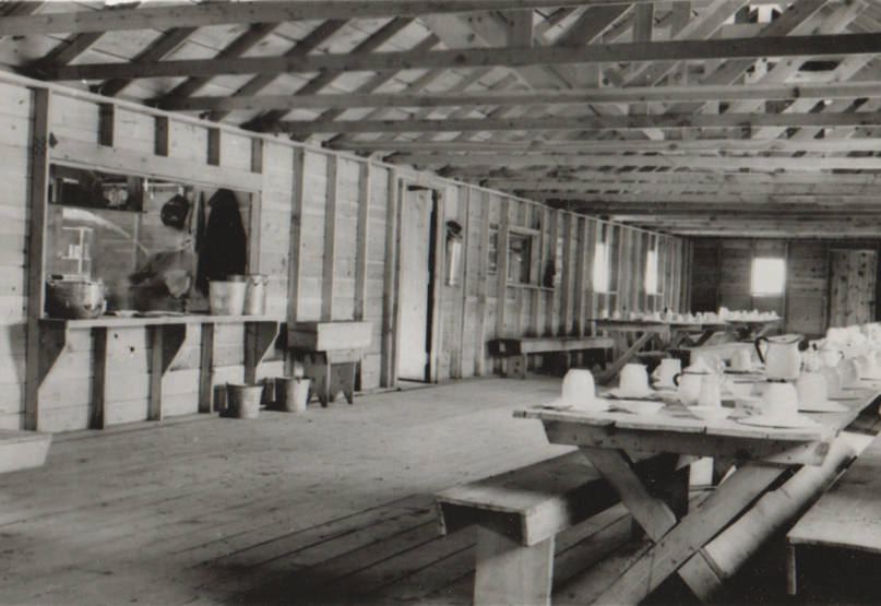 item thumbnail for Carey Camp, Little Wood River, mess hall